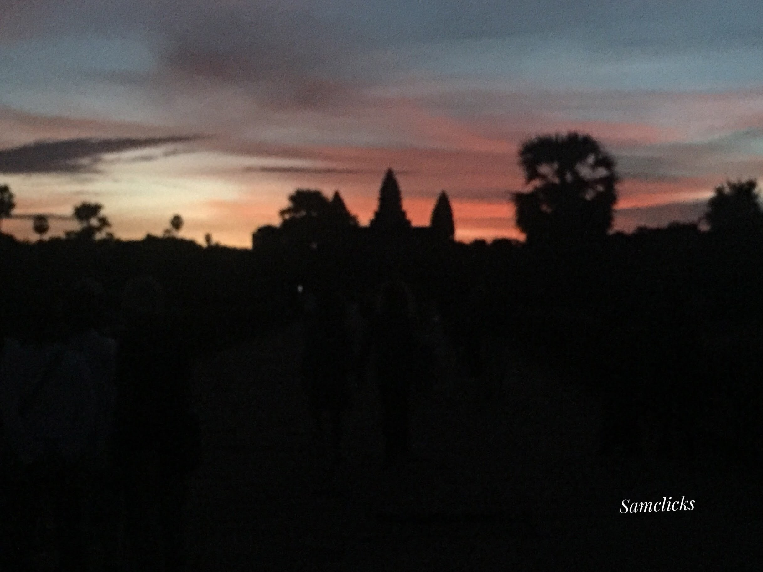 Angkor Wat before the sunrise!