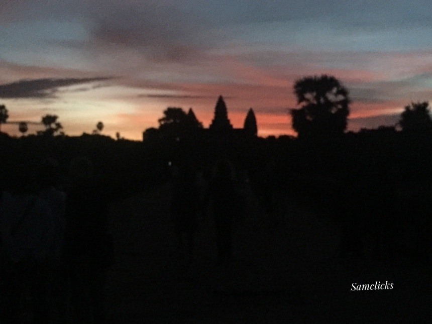 Angkor Wat before the sunrise!