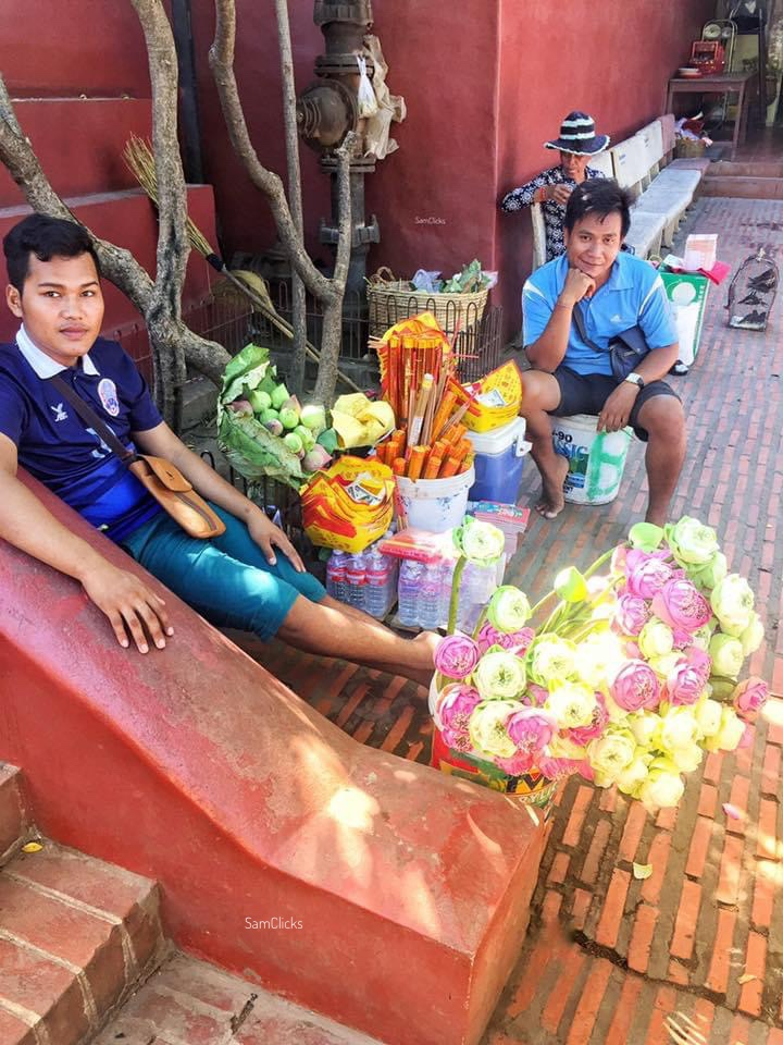 Flower boys of Phnom Penh