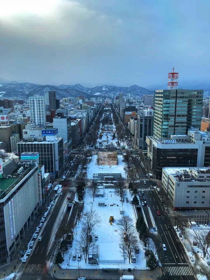 Bigger view of Odori Park