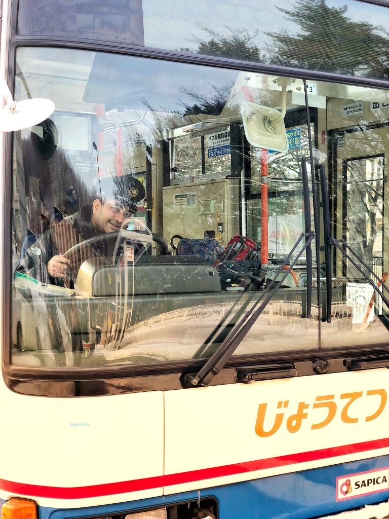 Babhnan to Bus driver in Japan