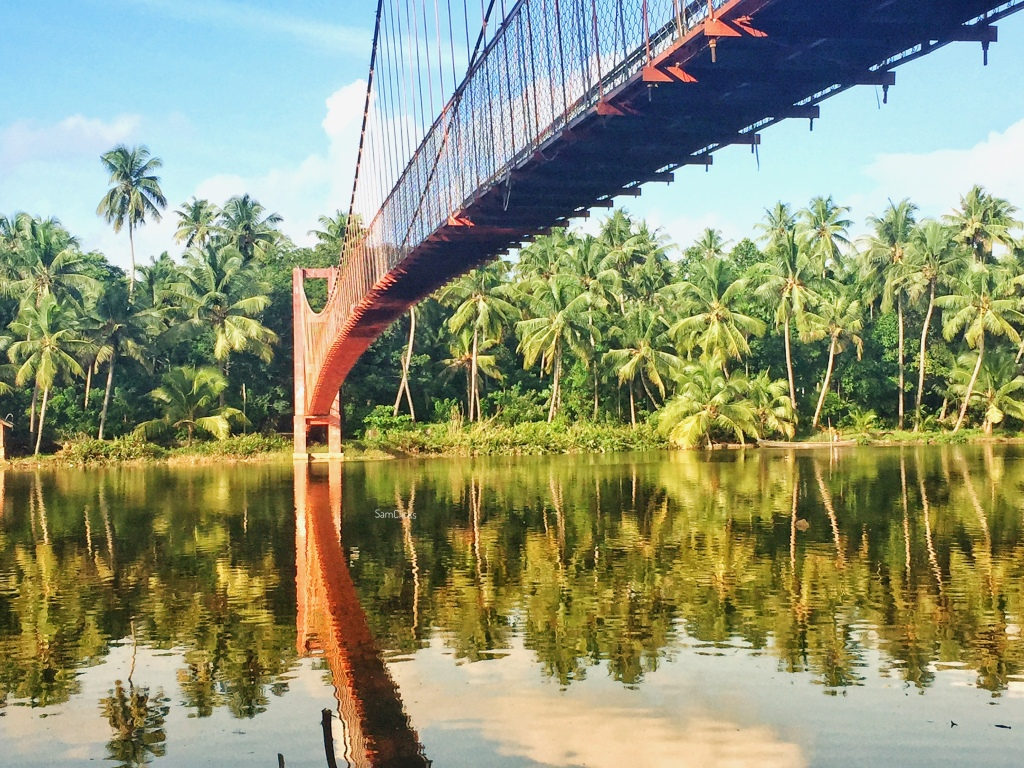 This is a picture of beautiful backwaters in Ernakulam, could not get the name right.